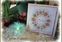 "Coffret 5 cartes ""Noël"""
