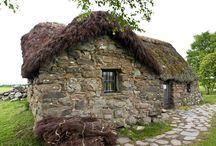 Architektura-Skotsko, Irsko