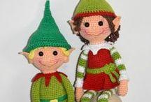 crochet elves