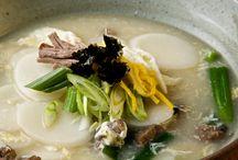 Korean cake soup