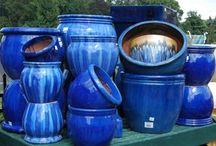 patio blu cobalto