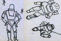 My Sketchbook Scans / Get outta my head...get into my sketch book ;{D