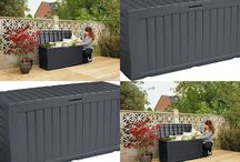 Garden Outdoor Box Storage Home Furniture Heavy Duty Shelter Christmas Xmas Gift