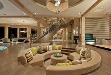 Lobbies, restaurants, hotels