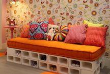 τσιμεντένιος καναπές