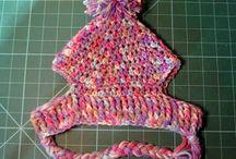 Crochet hats for animals