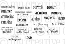 Have Fun in the Sun / Inspiration for this stamp set!
