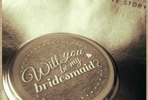"""Wedding Favours & Gifts / """"Will you be my bridesmaid / Maid of Honour"""" is more than just a question! Ask them in a special way because they are special to you! www.vivianyeung.com"""