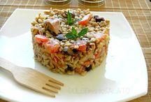 Cucina: Insalate di pasta, riso e altri cereali