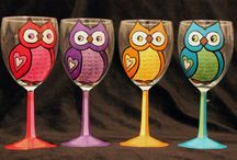 Glasses, cups, and dishes