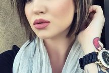 hairstyle / New trendy hairstyles and cool haircut tips, simple and easy, for short, medium length or long hair. Get a modern look by hair coloring but keep healthy hair.