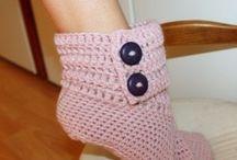 Crochet: Feet / by Hollee Elam