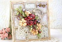 flower cards / by Henny van der Linden