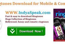 Ringtones / Free Download Latest Ringtones - Movie ringtones, funny ringtones, alerts & alarm ringtones etc.