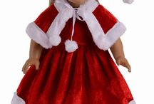 "American Girl & Such / I Loved collecting dolls when I was younger. the dolls and clothes have changed so much, that they give me inspiration to create for my grandchildren.  American Girl doll clothes and accessories, not just for American girl dolls but all 18"" dolls, furniture and crafts. / by Gail Parsley"