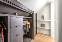 Lefèvre Interiors dressing room design - contemporary / Custom made design
