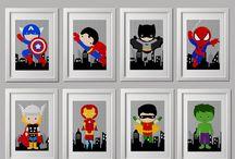 Marvel und DC
