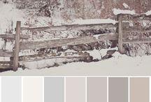Paleta de cores casa