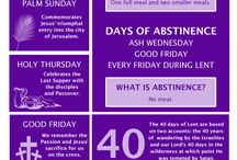 Lent period & easter