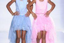 D'Lila & Jessie / soeurs jumelle de leur celebre pere rappeur Sean John combs ( P.Diddy )