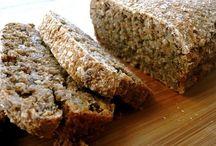 pão de trigo germinado
