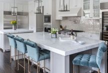 Kitchens / Kitchen inspiration from French country to modern classic. A girl can always dream right?