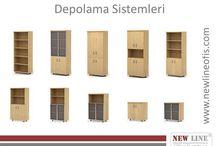 Depolama Sistemleri / www.newlineofis.com