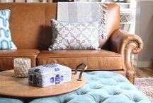 Caramel Sofa Settings