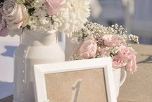 Wedding Table Decor / Elegant, French style table decorations and centerpieces for your Paris theme wedding.