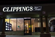 Interior, Retail & Lighting Design: Clippings Salon / Interior & Lighting Design by Leslie McGwire™ & Associates: from concept to completion!  This is Clippings Salon SECOND LOCATION. Congratulations!