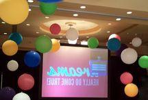 Stage Decor Balloons