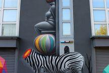 Urban Street Art / by Charlotte Hamrick