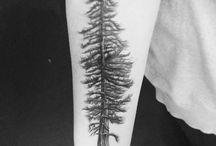 Tattoos: Trees