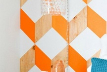 on the wall / wall décor/paint designs, etc. / by Laurie Bohannan