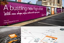 Hallsville Quarter / Hallsville Quarter is Bouygues' (Now Link City) £600m flagship development in Canning Town, comprising homes, retail and leisure – and part of the £3.7 billion Canning Town Regeneration Programme. Initially we worked with Bouygues and their retail letting agents GVA to produce a letting brochure for the development's new town centre stores.