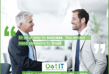 Dot IT Website Design & Development, Branding and ERP in Egypt / Dot IT is a leading service provider, with over 12 years of experience in providing brand identity, website design & development and e-marketing, mobile application, ERP solutions and networking services to enterprises from all major practices. Our distinctive style allows us to develop best solutions for our clients.