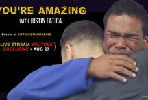 """You're Amazing with Justin Fatica"" / Justin Fatica and five young Catholic missionaries bus around the United States to share the beauty of Christ's love with thousands of people around the nation. An EWTN Original Series. Begins airing 10 p.m. ET, Thursday, September 3. For more information go to http://www.ewtn.com/series/shows/amazing/"