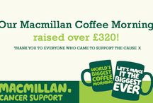 Macmillan Coffee Morning 2015 / Have a look at the goodies we had on offer at our coffee morning. We can't believe how much we raised!!