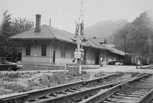 Railroads, Trains,& Depots / by Sherron Meisberger