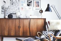 Danish Mid-Century Inspired Sideboards / Styling Tips and Inspiration