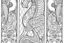 Παραδοσιακά διακοσμητικά μοτιβα - Αρχιγράμματα