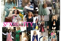 My Obsession with Carrie Bradshaw / I know the days of Carrie Bradshaw and her friends telling the stories of all the 'Single gals' are long over, but I am still obsessed with the fashion!