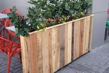 Pallet Growing Boxes