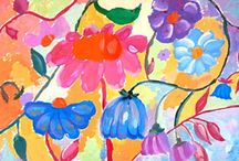 Arts for kids _ Flowers