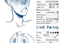 Paint tool sai tutorials