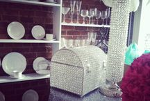 Crystals For Rent / From Crystal Vases to Card Boxes we have a great selection available for rent.