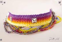 Colorful world / Whimsical things that I make. https://www.facebook.com/DesFleurLilla