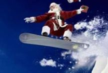 Santa's Outdoor Adventures / Merry Christmas from Outside Sports. Here are a few Santa's enjoying some extreme outdoor sports to get you inspired for your next outdoor adventure.