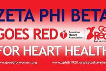 2017 Zeta Phi Beta GOES RED for Heart Health