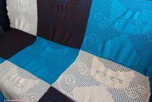 Szydełkowe koce / crochet blanket